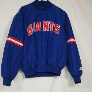 Men's, New York Giants Starter Proline Jacket